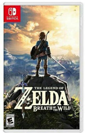 The Legend Of Zelda Breath Of Wild Nintendo Switch Nuevo