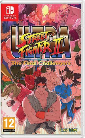 Ultra Street Fighter II Nintendo Switch Nuevo Sellado