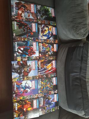 Colección de Enciclopedias Marvel