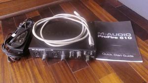 m audio profire 610 manual