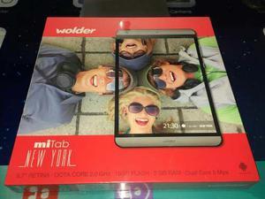 Tablet Wolder Mi Tab New York 9.7' Retina Octa Core 2gb Ram