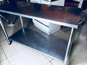 Mesa de trabajo cocina acero quirurgico posot class - Mesa trabajo cocina ...