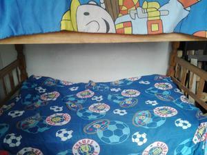 Se vende cama camarote de 1 plaza y media posot class for Ofertas de camas 1 plaza