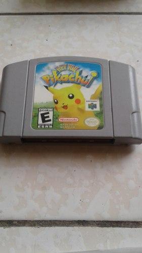 Juego Hey You Pikachu Nintendo 64
