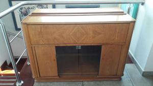 Mueble bar de madera posot class for Mueble bar exterior