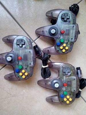 Nintendo N64 Mandos Transparentes