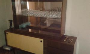 Vitrina repisa colgante con puertas de vidrio posot class - Vitrina de comedor ...
