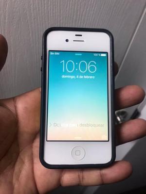 IPHONE 4S DE 16GB LIBRE DE ICLOUD COMO SUPER IPOD ES DE EEUU