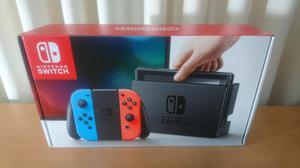 Nintendo Switch Joycon Neon Blue Y Red Nuevo En Caja