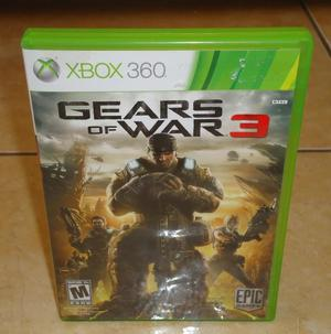 Juego Xbox 360 Gear Of War 3 Vendo O Cambio X Juego Ps4