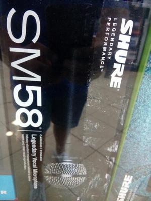 Micro Shure Sm58 Nuevo Remato a 220 Sole