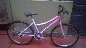 Vendo bicicleta montañera aro 26 de 18 cambios