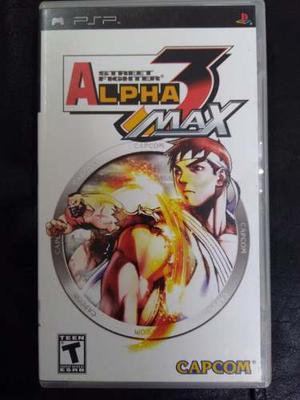 Juego Psp. Street Fighter 3 Alpha Max. Juego Físico.