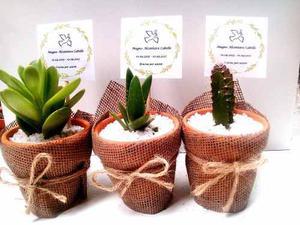 Recuerdos De Bautizo Con Cactus.Recuerdos Despedidas Brunch O Matrimonios Posot Class