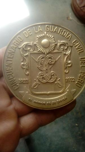 Antigua Medalla de La Guradia Civil