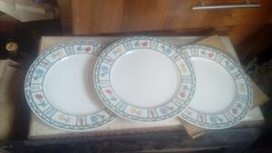 Antiguos Platos de Porcelana China