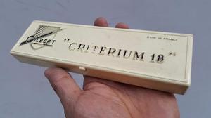 Antiguos Lapices Gilbert Made In France Citerium 18 En Caja