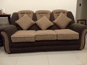 muebles para sala 3 piezas de vinil color naranja2 posot