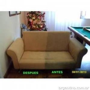 Muebles, lavado de muebles a domicilio