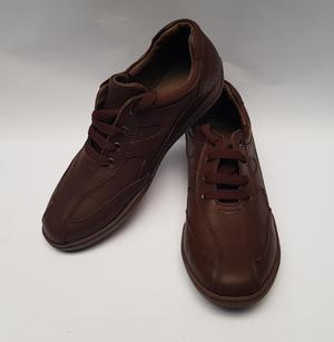 REMATE LIQUIDACIÓN 480 Pares de Cuero Marrón Zapatos y
