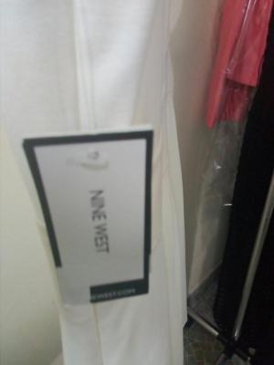 Vendo Vestido Crema Nine West Talla 12