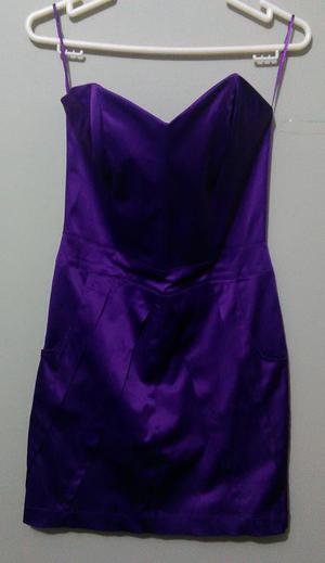 Vestido de fiesta Straple