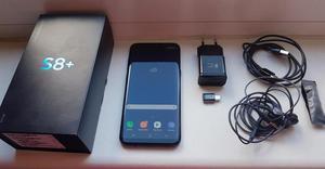 Vendo Samsung S8Plus color negro con accesorios