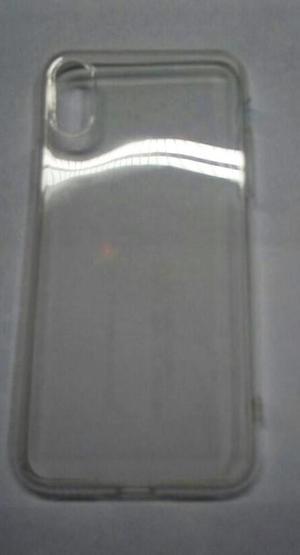 funda de gel transparente para iphone X iphone 10