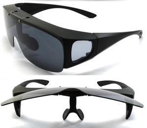 Gafas De Sol Flipup Polarizados Encima Lentes Oftalmicos