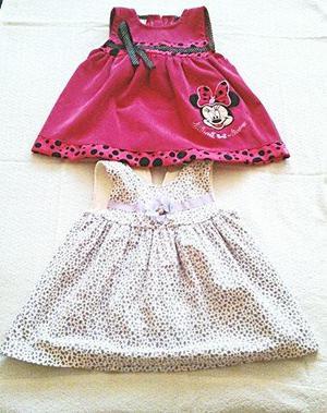 Hermosos Vestidos para Bebés de 6 a 12 meses de edad