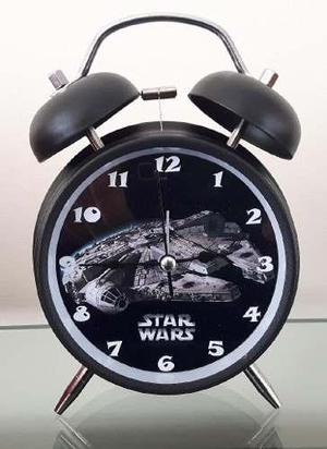 Reloj Despertador Estilo Vintage Star Wars Halcon Milenario