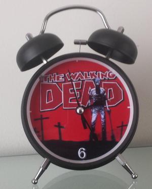 Reloj Despertador Estilo Vintage The Walking Dead Alarma