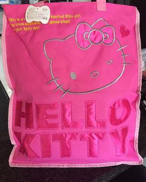 Bolso Kity Cartera Viaje Hello Kitty Grande Playa Paseo