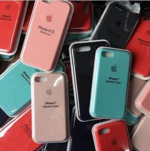 Case Silicona Iphone 5s, Se, 6, 6s, 6 Plus, 7, 7 Plus, 8 & X
