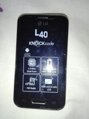 Lg L40 Nuevo en Caja con Accesorios