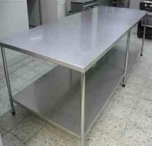 Mesas de refrigeradas de acero inoxidable posot class - Mesa de trabajo acero inoxidable ...