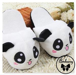 Osito Panda Pantuflas Importadas Kawaii // Ambary