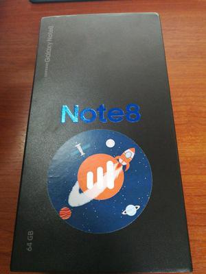 Vendo Galaxy Note 8 64gb Nuevo en Caja
