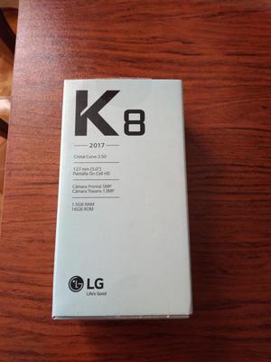 DE REGALO LG K8 NUEVO