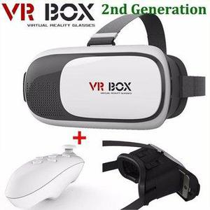 Google Cardboard VR BOX Lentes Realidad Virtual 3D CONTROL