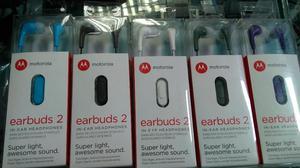 Handsfree Audifonos Motorola Earbuds 2 Original en Caja