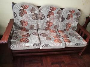 Juego de Muebles de Madera X3