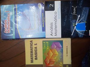 Libros Análisis Matematico