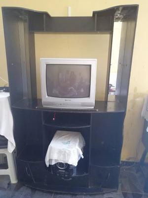 Mueble Madera Para Televisor Equipo Mueble Separador