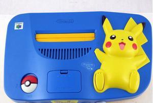 Nintendo 64 Edicion Pikachu Pokemon