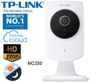 Cámara Cloud Diurna/Noctura HD, 300Mbps WiFi NC250