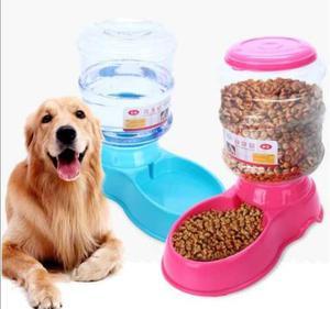 Dispensador de Agua Y Comida para Perros