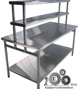 Fabricamos mesas de acero repisasmesas posot class - Acero modular precios ...