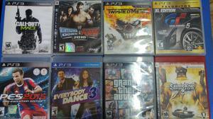 Video juegos para play 3 CASI NUEVOS