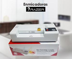 Enmicadoras RAZER PL230 A4 04 rodillos de calor
